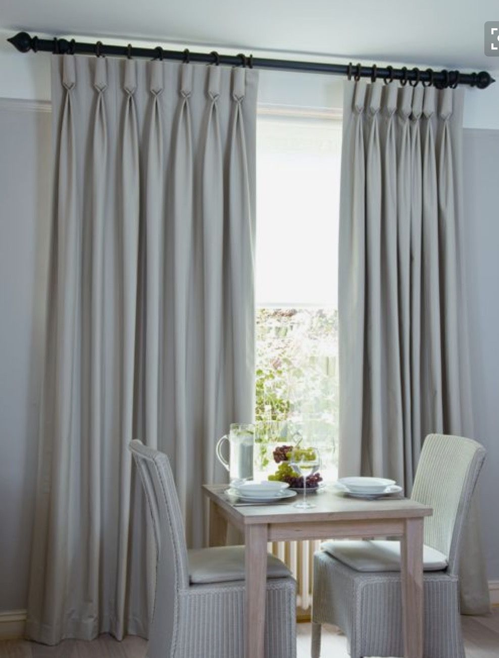 Goblet Pleats Curtains Curtains Living Room Curtains
