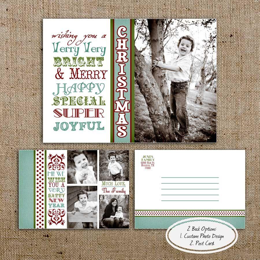 digital christmas card e card or printable 1500 via