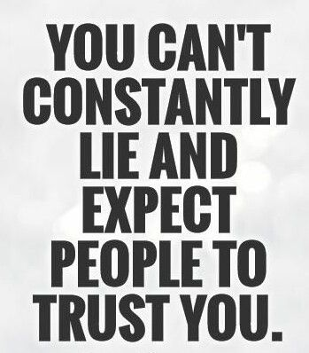 Why don't you trust? Why can't you trust?