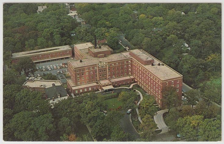 Hinsdale sanitarium and hospital 120 north oak street