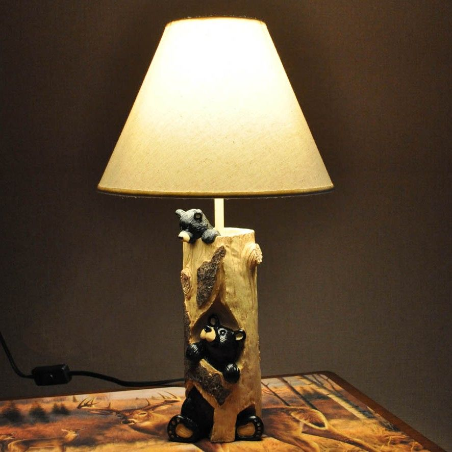 Western Style Table Lamps