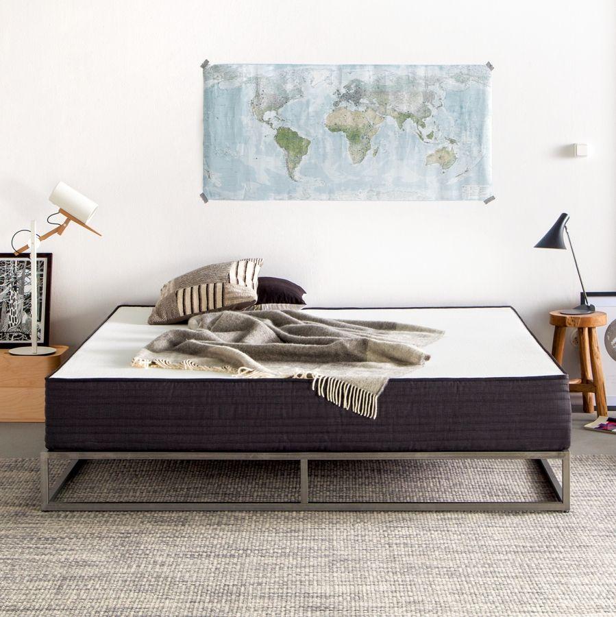 bettgestell smood - metall - anthrazit - 140 x 200cm | bedroom, Schlafzimmer entwurf