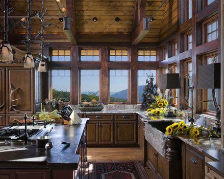 Mountain Interior Design Log Cabin Interior Designs Western NC