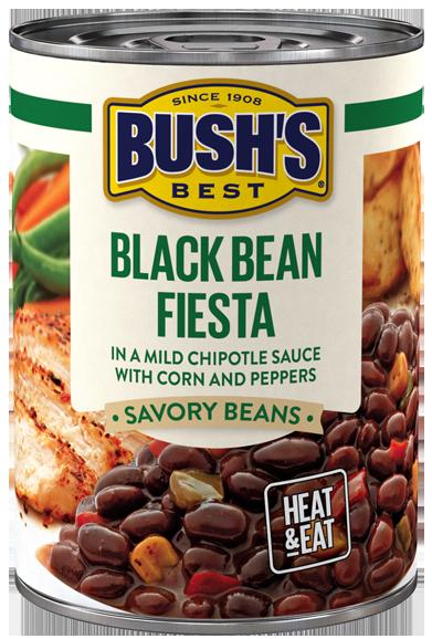 Cauliflower Rice Bowl With Bush S Black Bean Fiesta Recipe Fiesta Recipes Recipes Kids Eat Vegetables