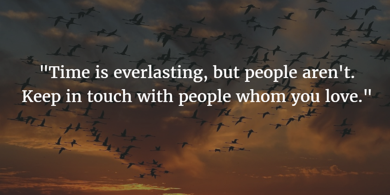 25 Keep In Touch Quotes For Our Beloved People Touching Quotes Quotes Family Quotes