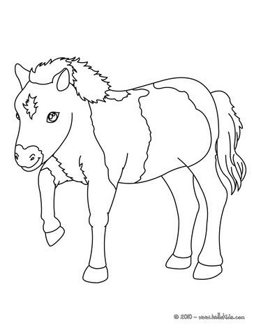 You Can Print Out For Free This Pony Coloring Page Cute And Amazing Farm Animals Colorin Farm Animal Coloring Pages Animal Coloring Pages Horse Coloring Pages