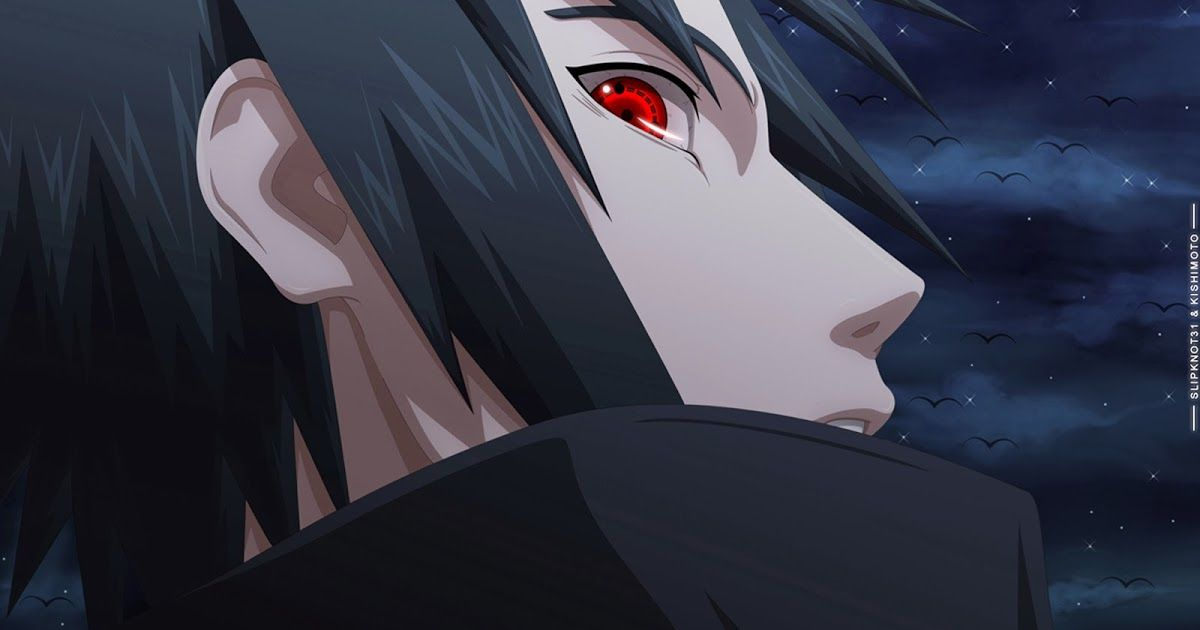 Uchiha Sasuke Sharingan Eyes Hd Anime Wallpaper 1600x900 3v