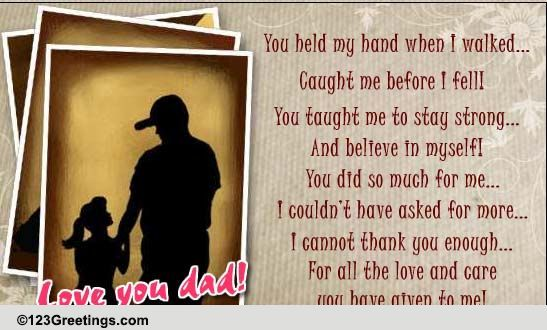 Pin By Hannelore Groves On Cards Sent Happy Birthday Dad From