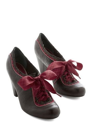 The Estate of Things Heel in Black, @ModCloth
