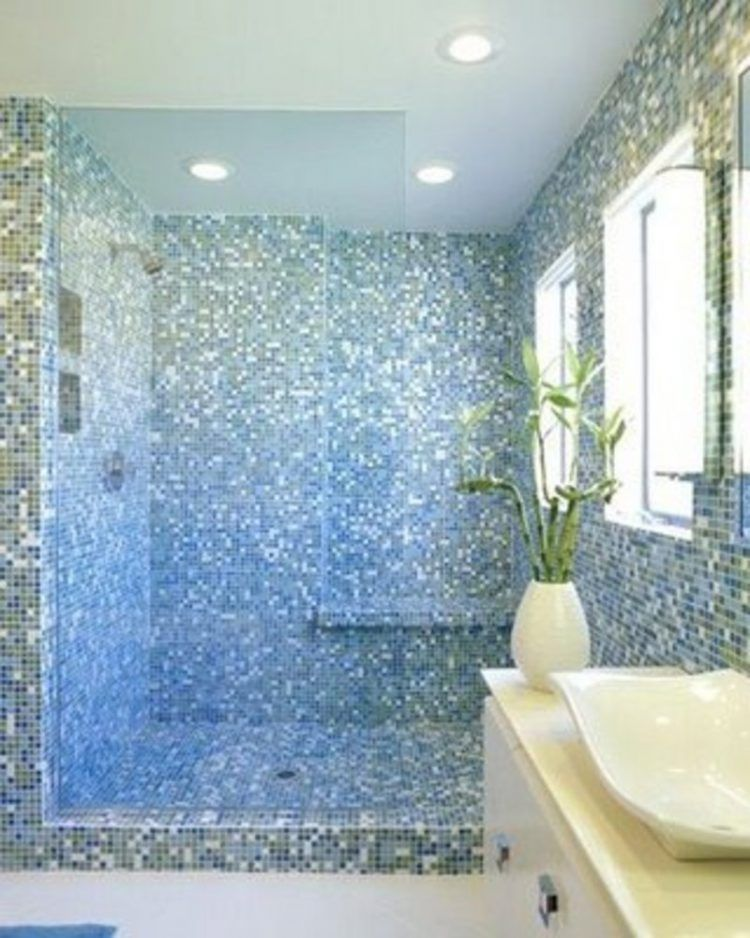 20 Amazingly Colorful Shower Tile Ideas Bathroom tiling, Tile