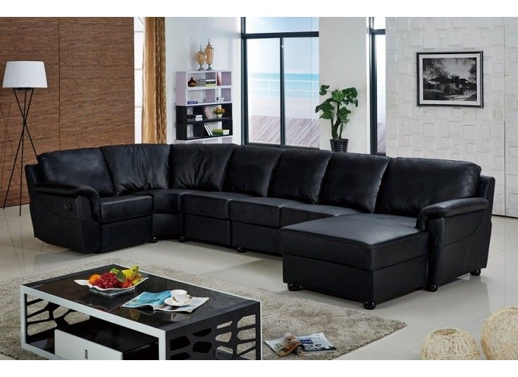 Bolton Leather Modular Lounge Sofa   It Has A Simplistic Yet Streamlined  Style, And Includes