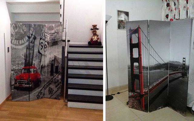 Ideas para decorar con biombos modernos gh dormitorio - Ideas para biombos ...