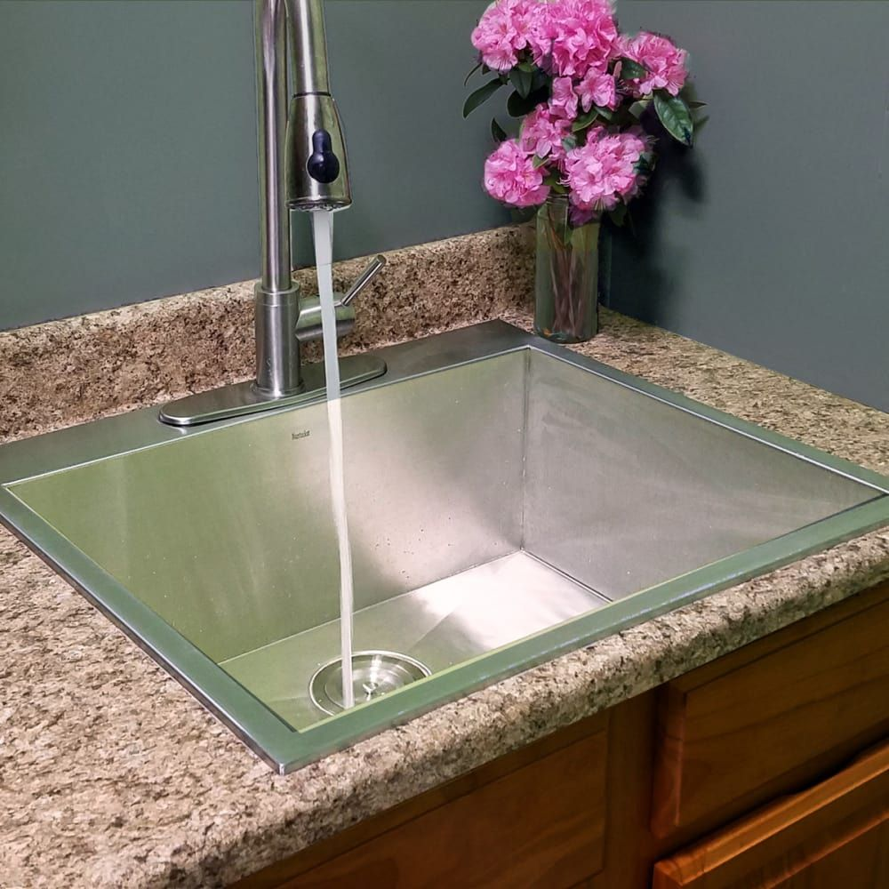 Nantucket Sinks Pro Series Zr252216 With Images Drop In
