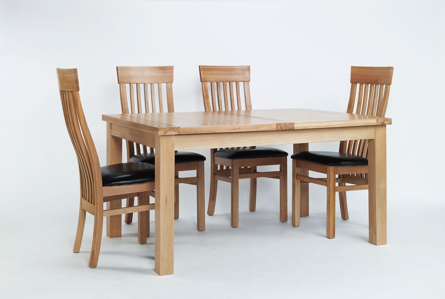 Sherwood Solid Oak Console Table Size Small Large  Small Prepossessing Oak Dining Room Table And 6 Chairs Review