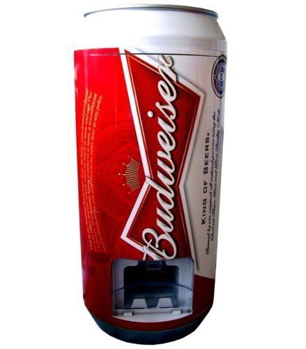 Budweiser Can Fridge Dispensor (12oz Cans) Peak http://www.amazon.com/dp/B00FAOY3MC/ref=cm_sw_r_pi_dp_i.Dnvb0VABXQK