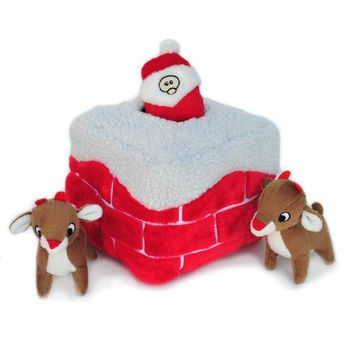 Zippypaws Holiday Burrows Interactive Hide AND Seek Squeaky Plush DOG Toys | eBay