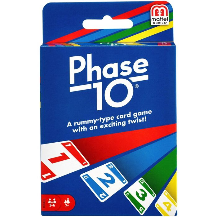 PHASE 10 Card Game Phase 10 card game, Card games, Cards