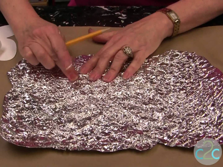 Aleeneus Forged Metal Effect Butterfly Wall Art  CraftsTin Foil