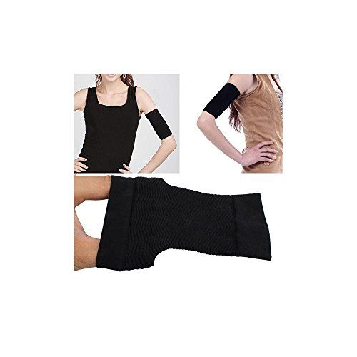 d4740ed333 Womens Weight Loss Arm Shaper Fat Buster Off Cellulite Slimming Wrap Belt  Band