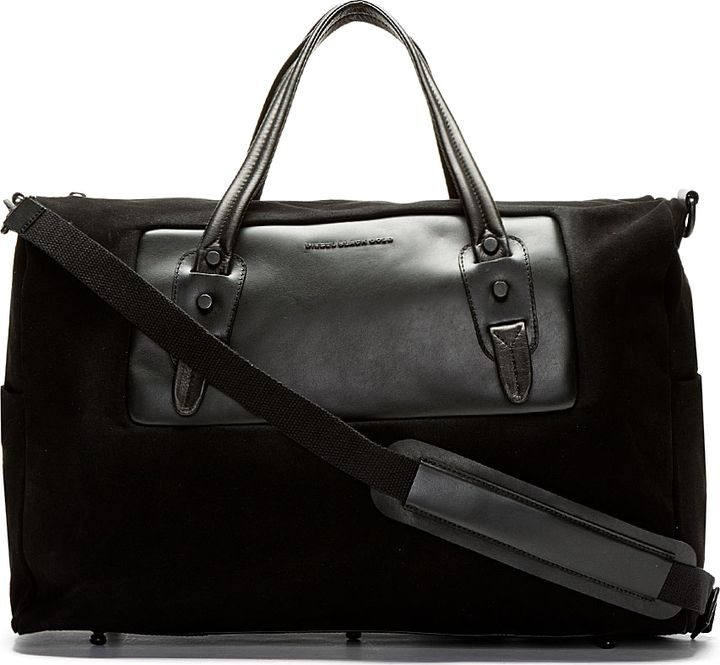 4e5709a82 Diesel Black Gold SSENSE Exclusive Quin Travel Bag on shopstyle.com ...