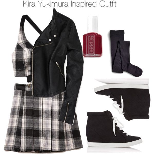 Teen Wolf - Kira Yukimura Inspired Outfit by staystronng on Polyvore featuring Forever 21, American Eagle Outfitters, Sperry Top-Sider, Essie, women's clothing, women's fashion, women, female, woman and misses