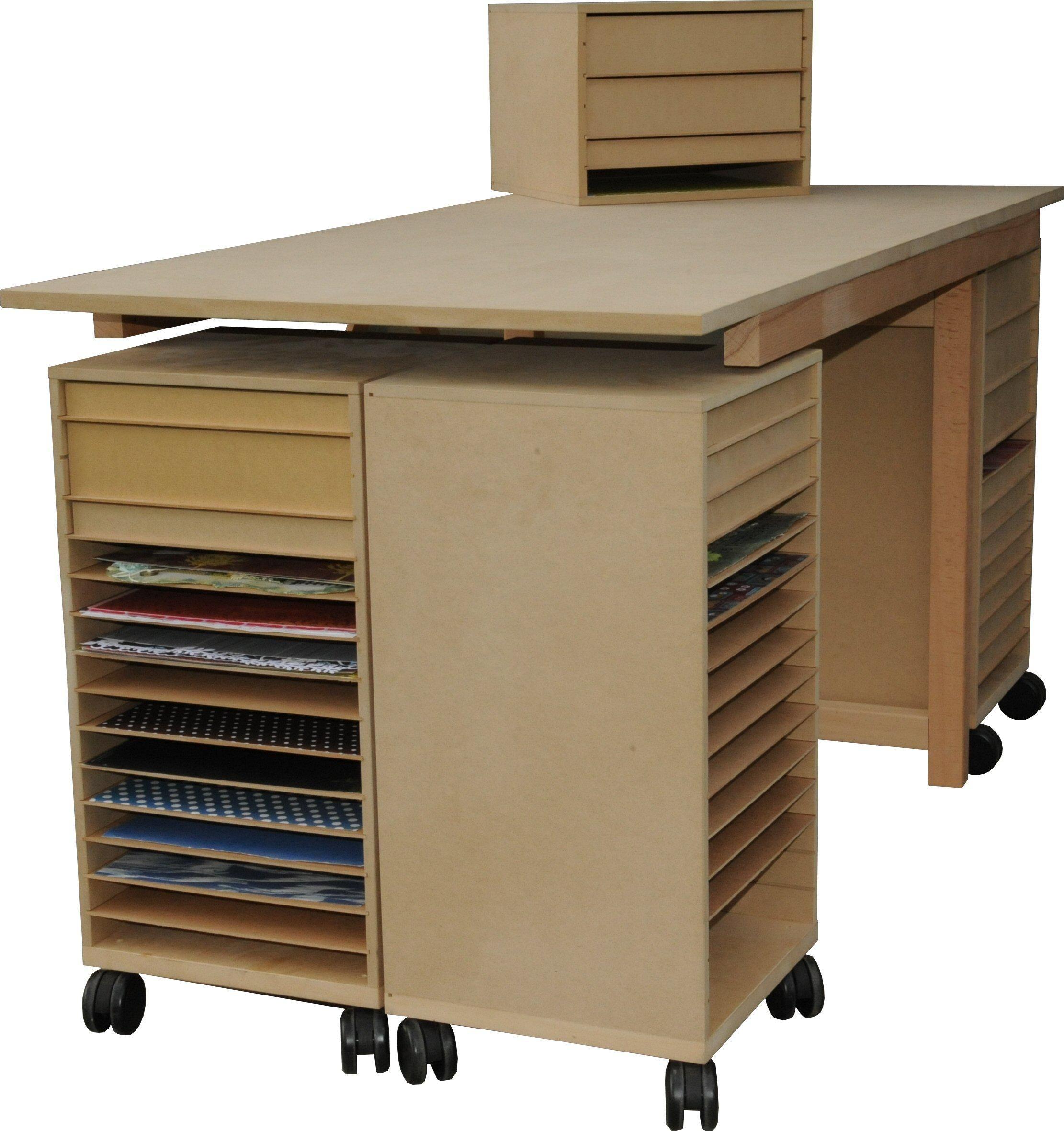 Meuble Scrapbooking Meuble En Bois Pour Loisirs Creatifs Scrapbooking Rangement Meuble Atelier Rangement Art