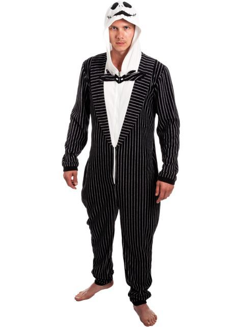Jack Skellington One Piece Costume - The Nightmare Before Christmas - Party City