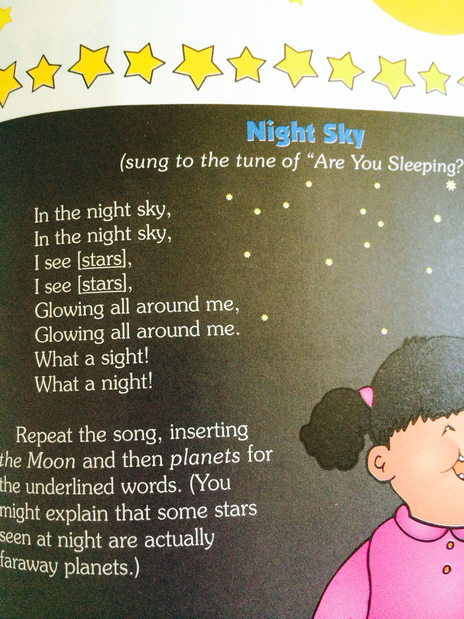 Space song  To the tune of Are You Sleeping  | Space | Space