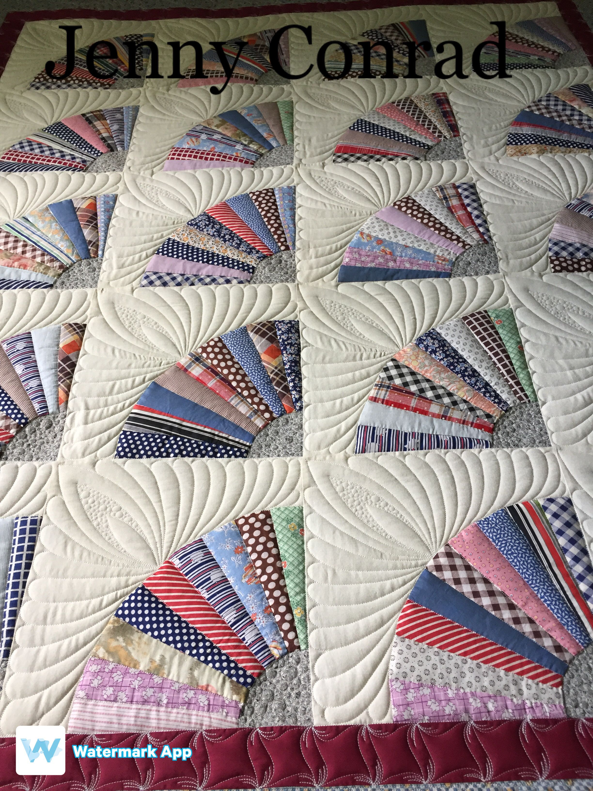 love how this quilt looks when finished quilting apqs glidefil