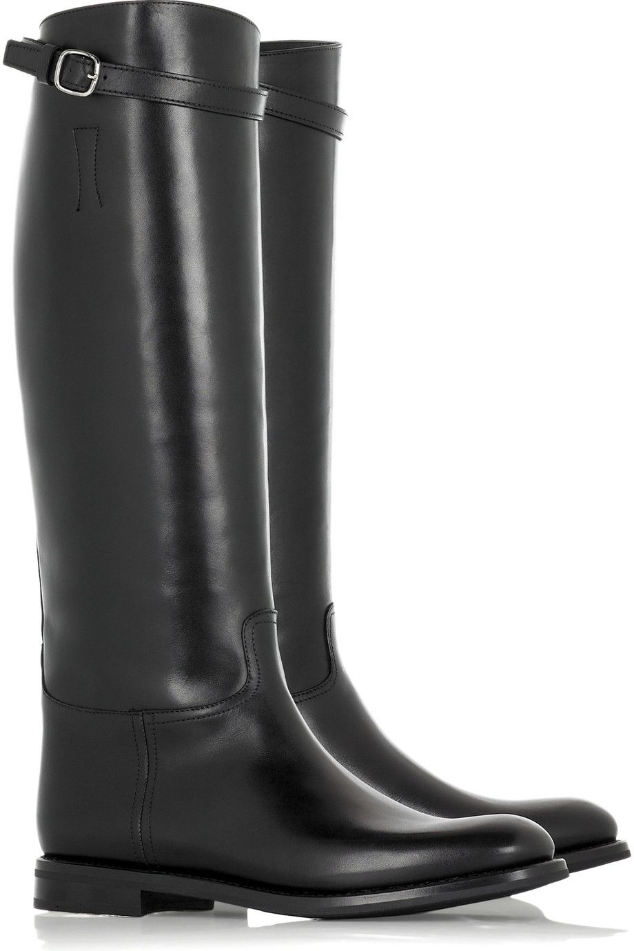 Rick Owens Suede wedge thigh boots – 65% at THE OUTNET.COM ...