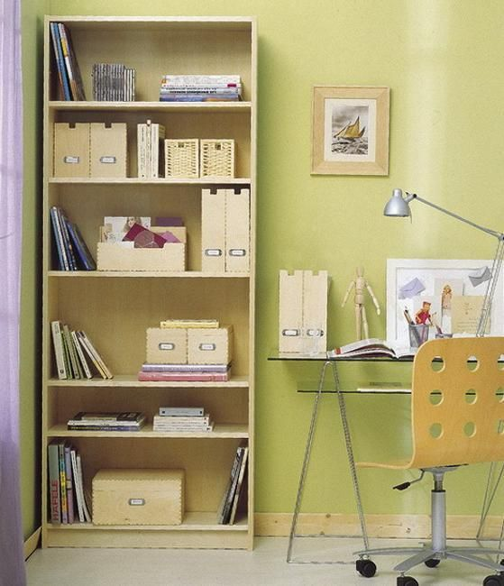 Summer Decorating Ideas Bringing Bright Room Colors into Home Office ...