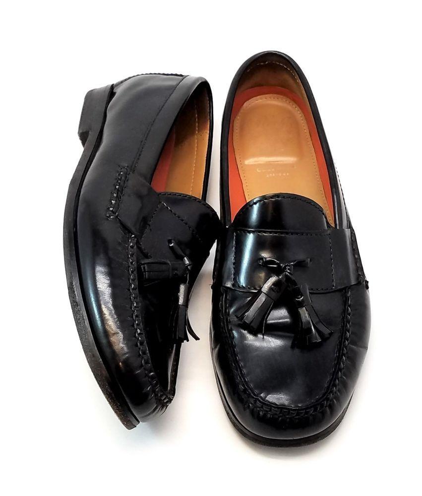 8a2666a4776 Cole Haan Pinch Grand OS Tassel Loafers Black Leather Mens Dress Shoes SZ  8.5 M  ColeHaan  LoafersSlipOns  DressFormal