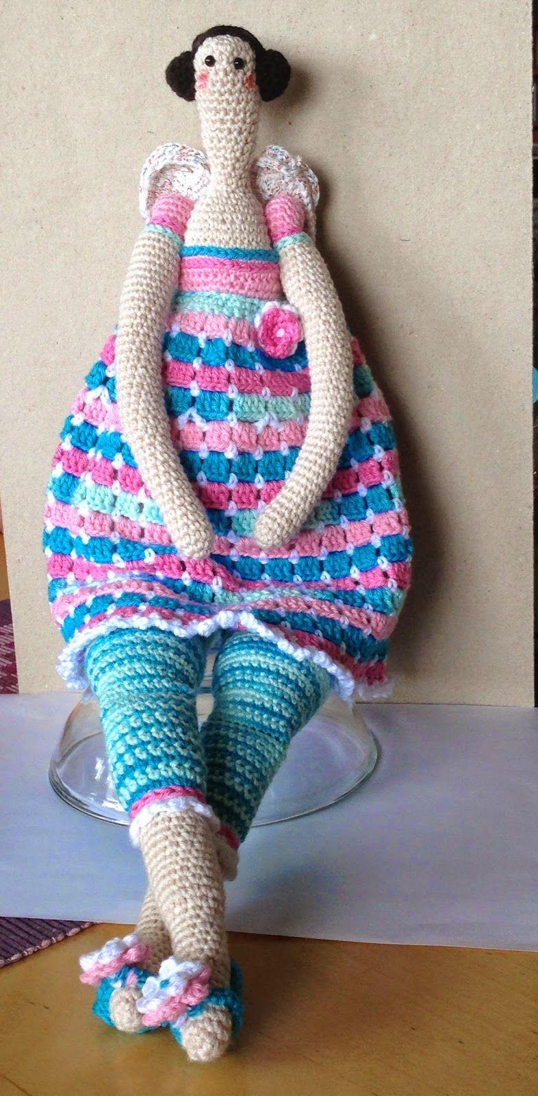 Tilda free crochet | muñecas tejidas | Pinterest | Puppen, DIY und ...