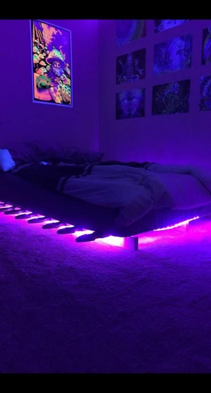 Bedroom Aesthetic Boy 38 Ideas Bedroom Room Makeover Bedroom Neon Room Neon Bedroom