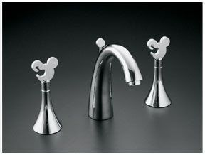 Mickey Mouse Kohler Faucet Mousecaves