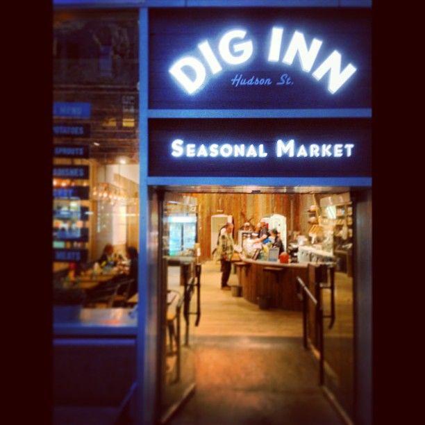 Dig Inn Seasonal Market in New York, NY 素Su 设计参考 Pinterest