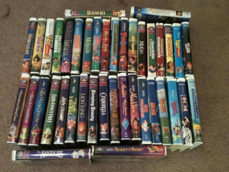 Do You Have Old Disney Vhs Tapes Stashed Away They Could Be Worth A Lot Of Money Disney Vhs Tapes Old Disney Disney Tapes