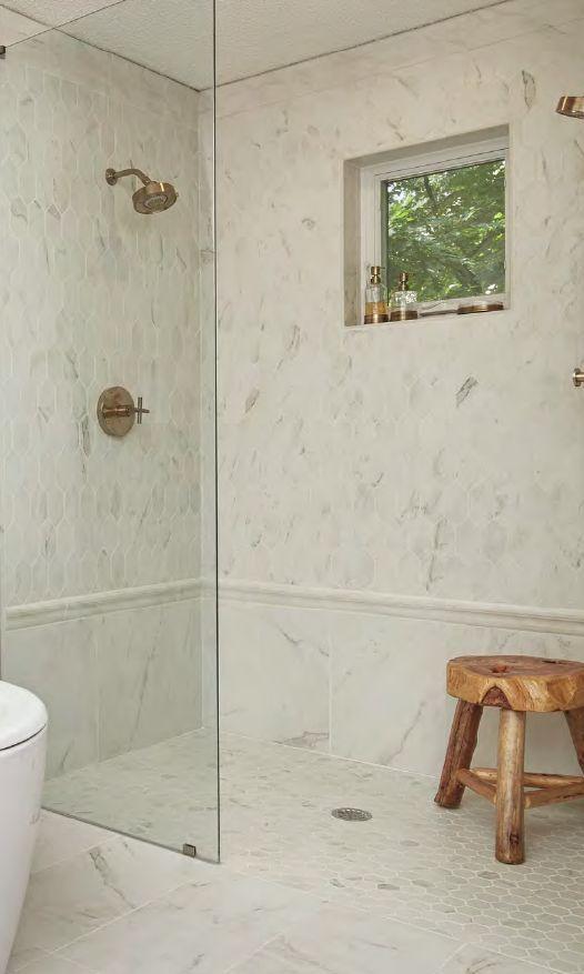 Barrierfree Shower Entry Mosaic Tile For Slip Resistance Tile - Slip resistant tiles bathroom for bathroom decor ideas