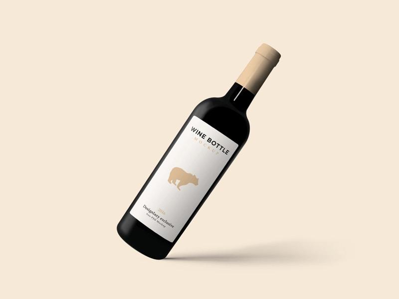 36 Elegant Wine Bottle Mockup Psd And Label Templates Texty Cafe Wine Bottle Elegant Wine Bottle Wine Bottle Logo