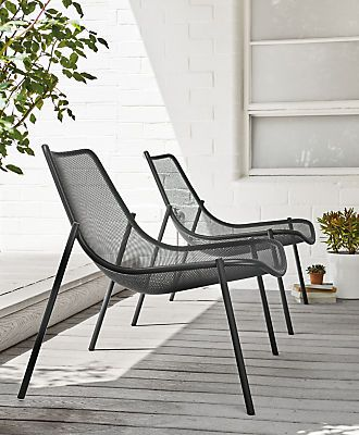 Moderne Lounge Stoel.Soleil Outdoor Lounge Chair Modern Outdoor Lounge Seating