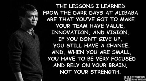 Alibaba Founder Jack Ma Success Story Inspirational Quotes Images