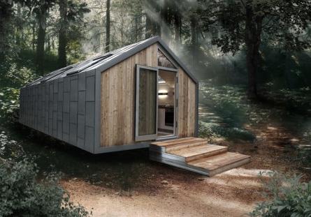 Tiny Houses Quadratisch Praktisch Gut Architecture Prefab