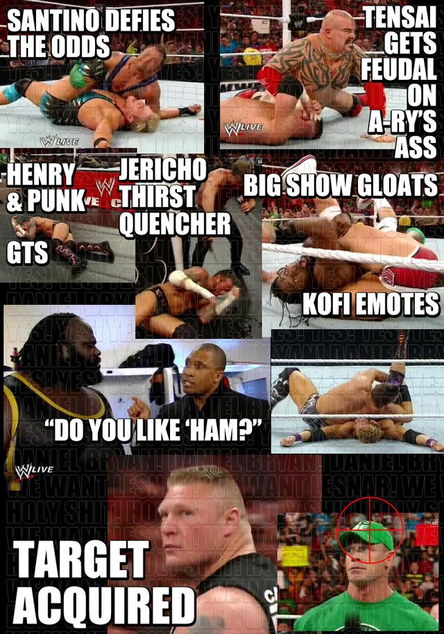 Rest O The Yes Yes Yes Wrestling Wwe Raw Wwe Funny Wwe