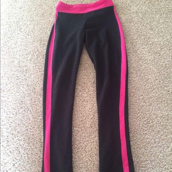 Athletic leggings Super cute not lulu tho:) not sure brand but feel just like soft lulu pants! Fits like size 2 lululemon athletica Pants Leggings