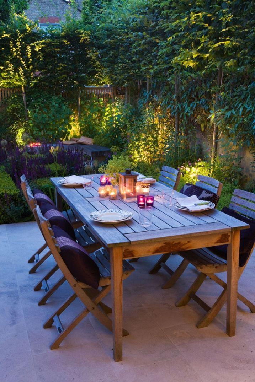 25 id es pour am nager et d corer un petit jardin gardens decks patios pinterest laub. Black Bedroom Furniture Sets. Home Design Ideas