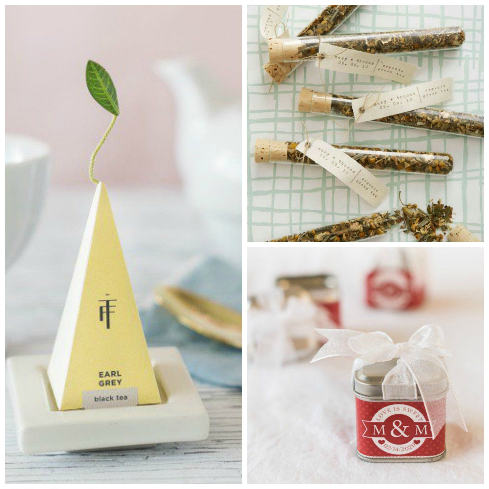 Perfectly Packaged Edible Wedding Favors | Create your own, Wedding ...