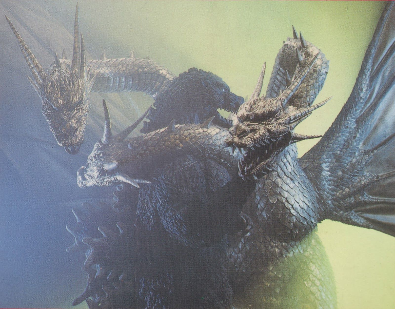 Image result for godzilla vs king ghidorah stills