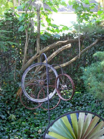 Wire Bicycle 5 5x1 75x4 25 Inches 13 97x4 45x10 79 Centimeters Weighs 0 8 Ounces Perfect Item For Making Topiaries Potted Plant Gardens Doll Houses