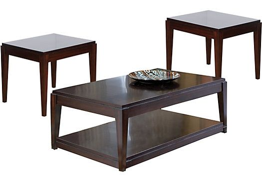 Best Lansing Cherry 3 Pc Table Set 399 97 Cocktail 50L X 400 x 300