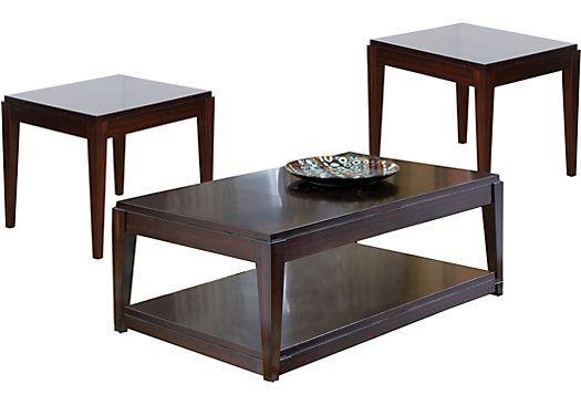 Best Lansing Cherry 3 Pc Table Set 399 97 Cocktail 50L X 400 x 300